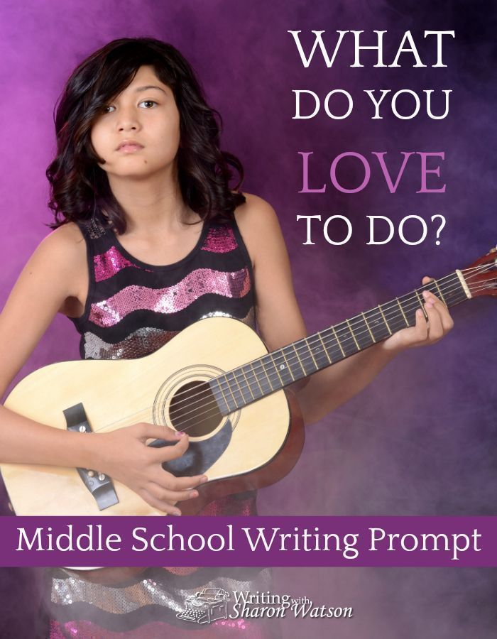 Middle School Writing Prompt - What do you love to do? Sing? Cook? Play soccer? Tell jokes? What's your motivation for doing it? Why do you love it so much? #homeschool #writingprompts #middleschool #soccermotivation