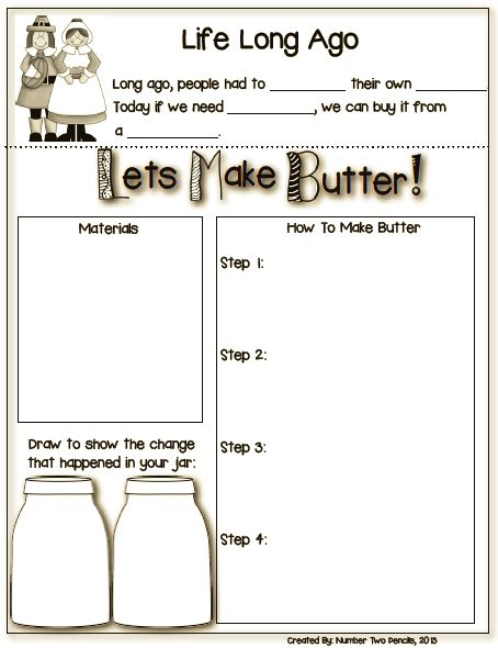 free 5 0 v4 If you  39 re studying about life long ago  this experiment is perfect for your kiddos  Watch students  39  amazement as they make their own butter in this activity