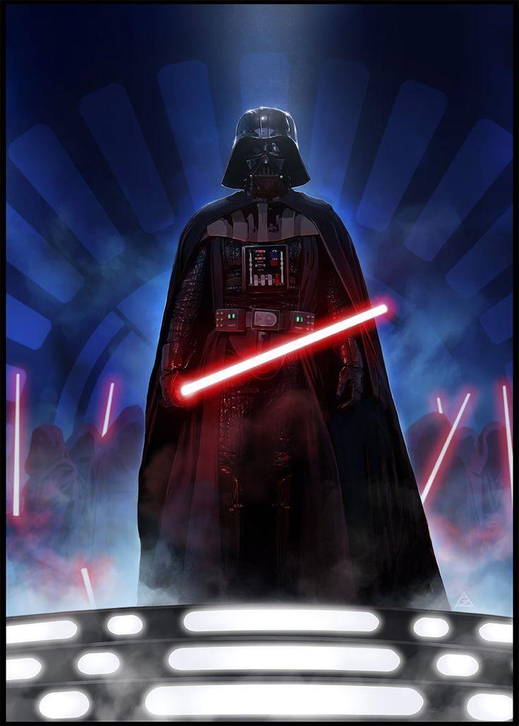 Darth Vader and Co., Gary jamroz-palma on ArtStation at https://www.artstation.com/artwork/darth-vader-and-co