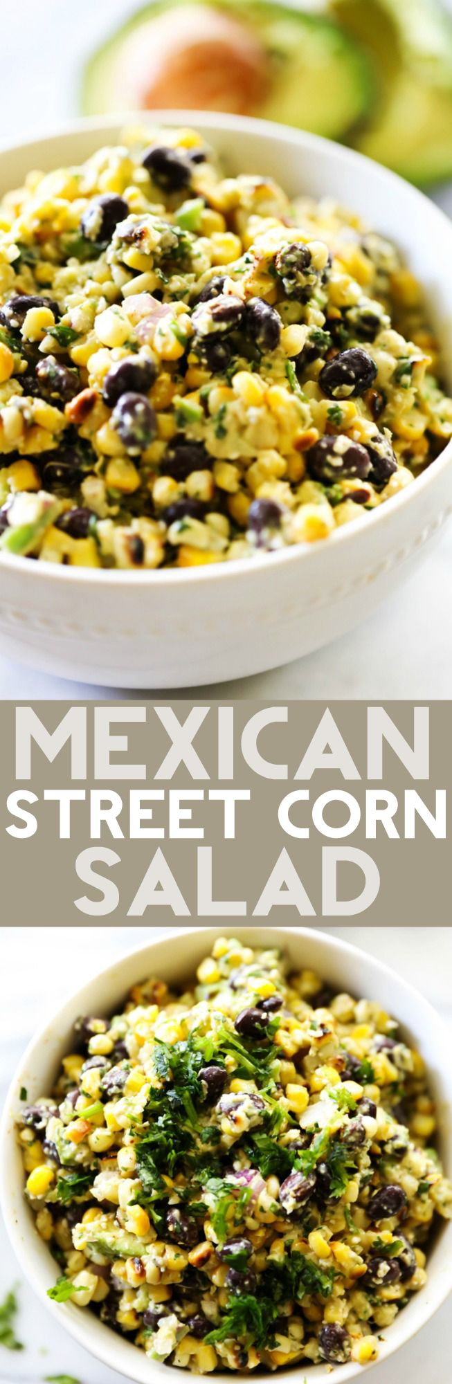 Mexican Street Corn Salad Party Etizersmexican Recipesvegetarian