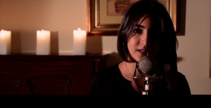 I See Fire (Ed Sheeran) - Luciana Zogbi http://youtu.be/6Ypkb0r1468. I like Luciana Zogbi's singing. With or without autotune, she sings better than Britney Spears.