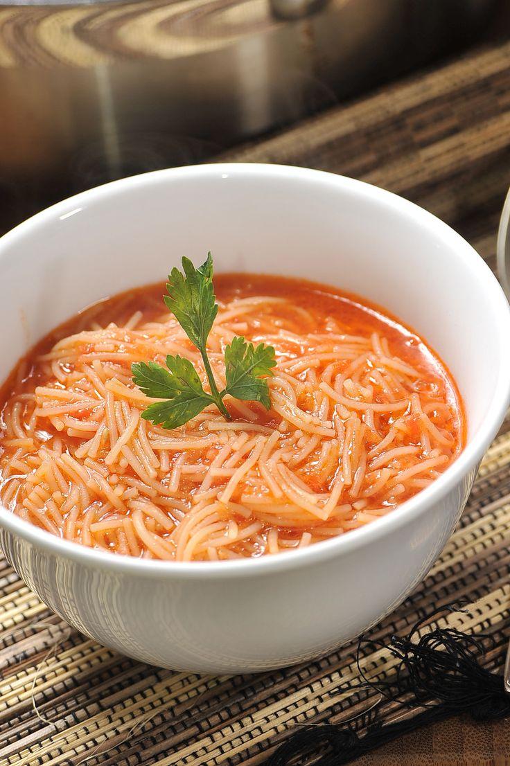 Sopa de fideo como la que hace mi Mama #recetas #mexicanas 'just like grandma used to make.