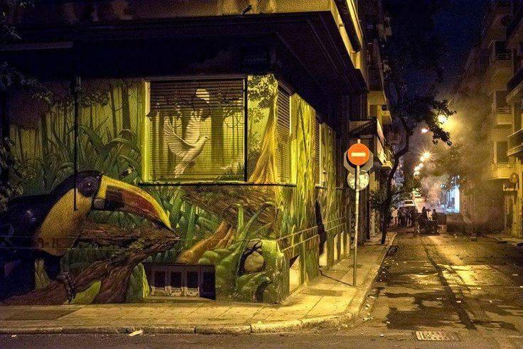 Athens. ExarchiaPhoto by Giorgos Giannopoulos