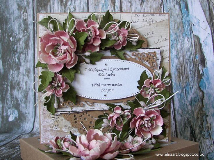 Elina Cardmaking Hobby: Best wishes for Mum to Be