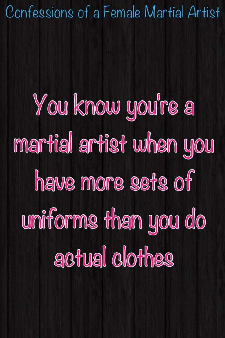 You know you're a martial artist when #McDojo #McDojoLife www.Facebook.com/McDojoLife