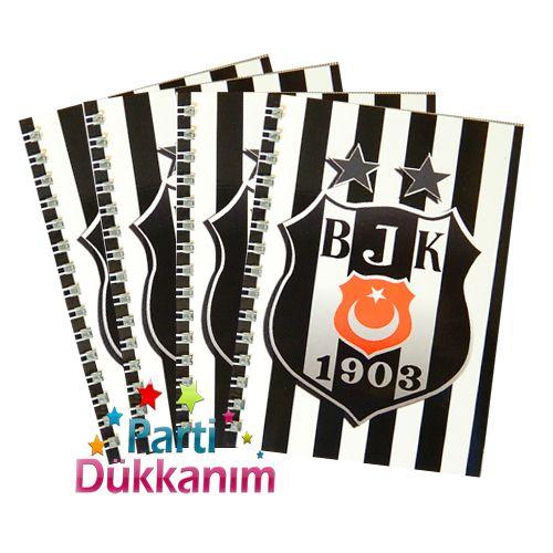 Beşiktaş Not Defteri 4 Ad (9x13 cm) 50s fiyatı
