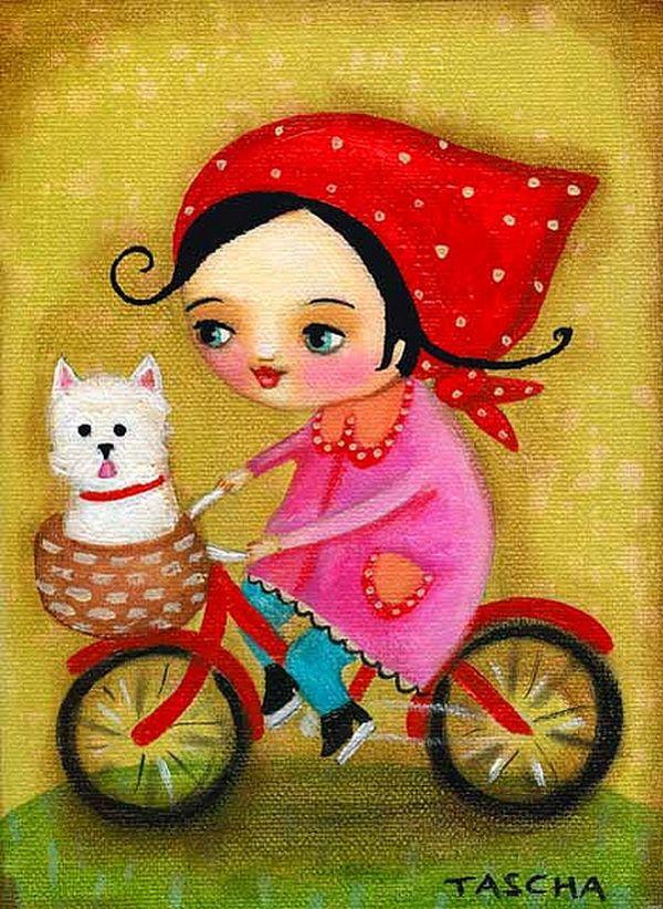 Cute Painting by Tascha Parkinson