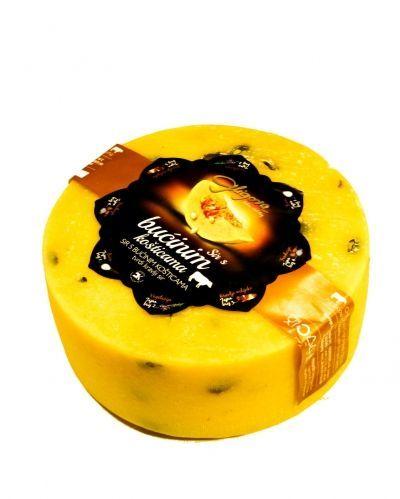 Queso de cabra con semillas de calabaza | queso semiduro con semillas de calabaza |  Croacia | Gligora productos lácteos