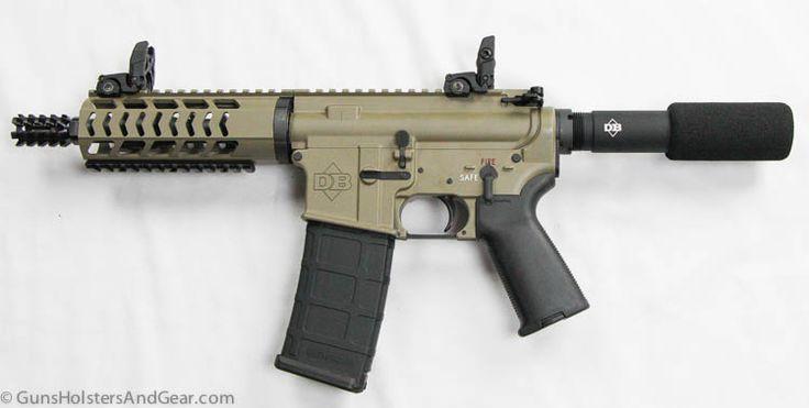 Diamondback DB15 Pistol $700 need to put a suppresser on this beauty....