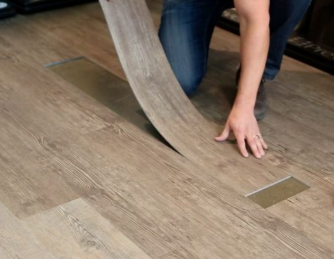 Not only is vinyl plank durable, the ease of installation and replacement makes it a truly unique flooring choice