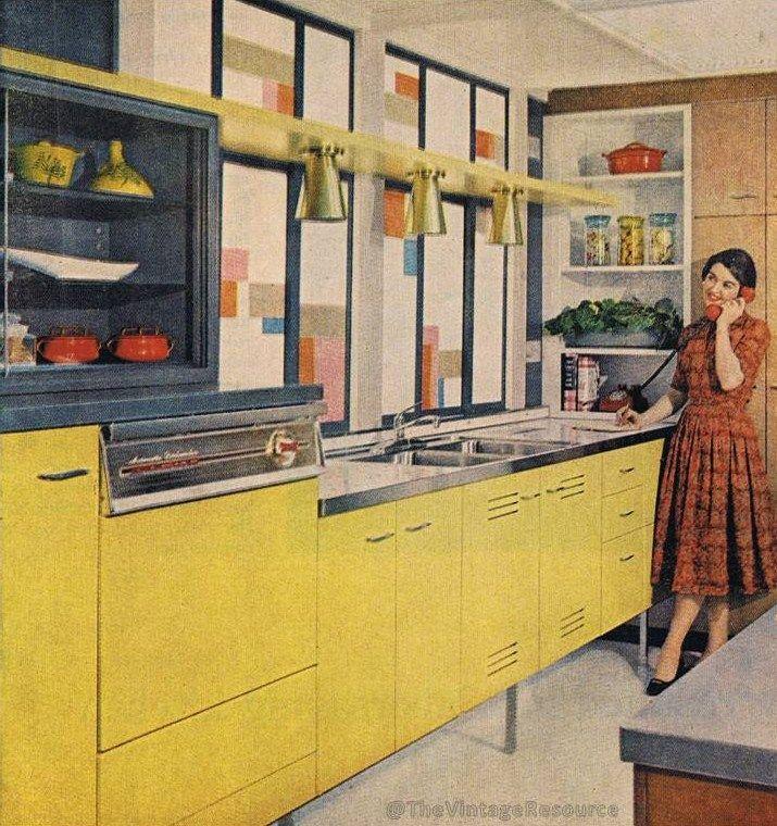 50's kitchen fabulousness
