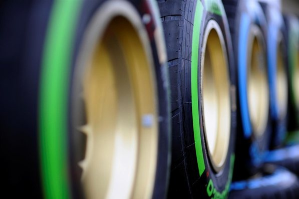 Pirelli tyres.  Formula One World Championship, Rd19 United States Grand Prix, Preparations, Austin, Texas, 15 November 2012