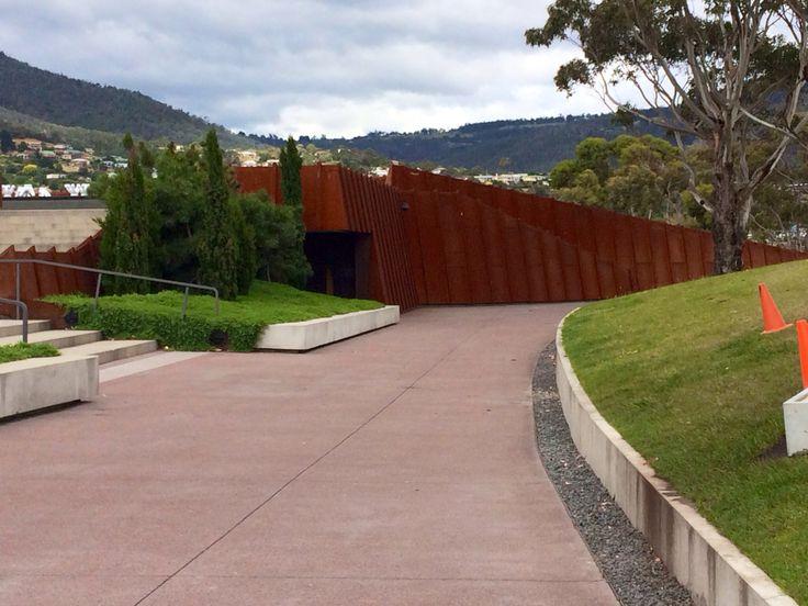 Mona ( museum of old and new art) Hobart Tasmania 2014