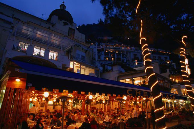 Restaurant Chez Black in Positano.