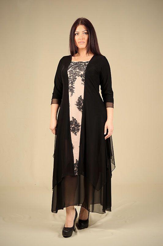 בגדי ערב לנשים מידות גדולות נפרטיטי עדנה פז Nefartiti