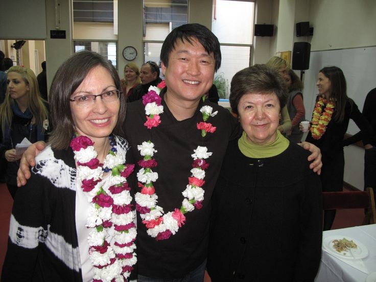 Chef Mun & US Ambassador to Argentina Vilma Martinez and Public Affairs Officer Marcia Bosshardt
