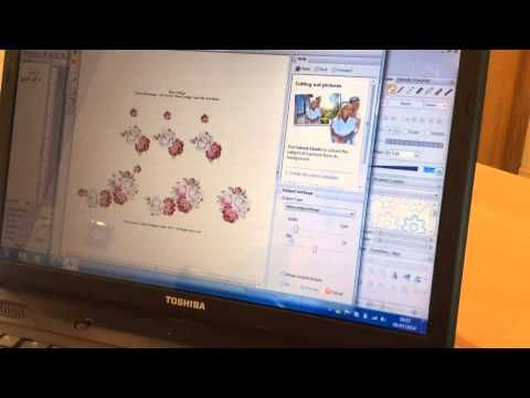 Adding Outlines to Decoupage Sheets using Serif Craft Artist 2 - YouTube