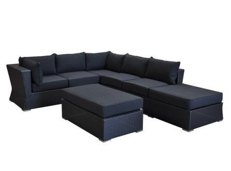 OASIS CHAISE in CHARCOAL