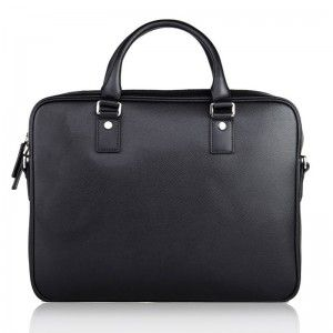 Black Leather Briefcase Bag For Men - Briefcase - Milry Business Bag
