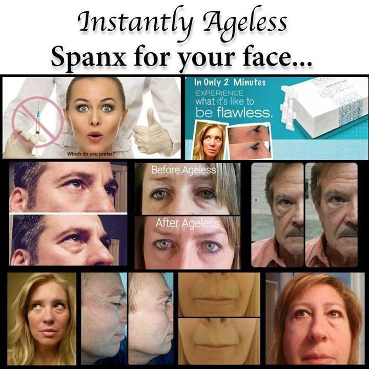 Instantly Ageless - Take 10 years off your age in just 2 minutes.  Be You Be Flawless!  Order a free sample - www.flawlessin2.info
