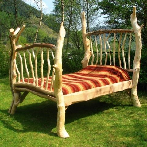 Rustic Four Poster Bed Stunning Handmade Wooden Bed Frame Made In UK