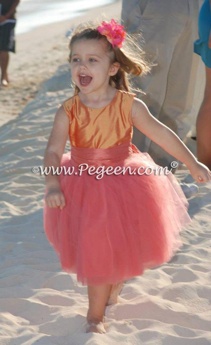 Best 89 Beach Flower Girl Dresses & Weddings ideas on Pinterest ...