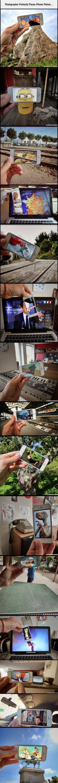 Des scènes de fictions dans la réalité avec un smartphone http://www.wikilinks.fr/?p=34364