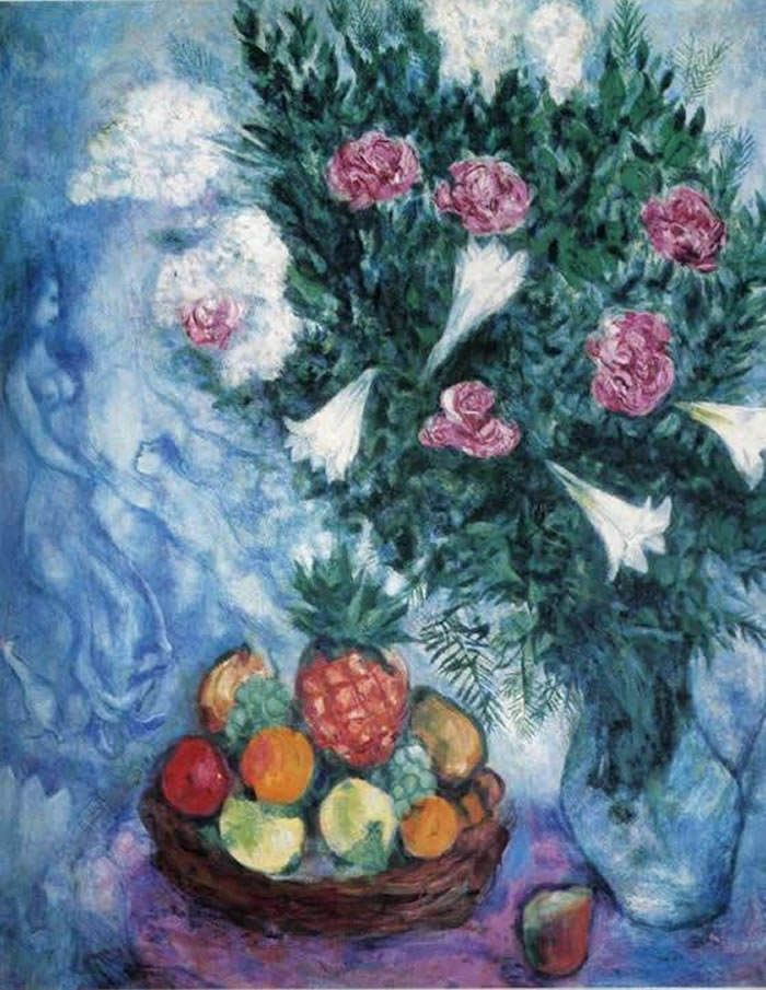 marc chagall flores