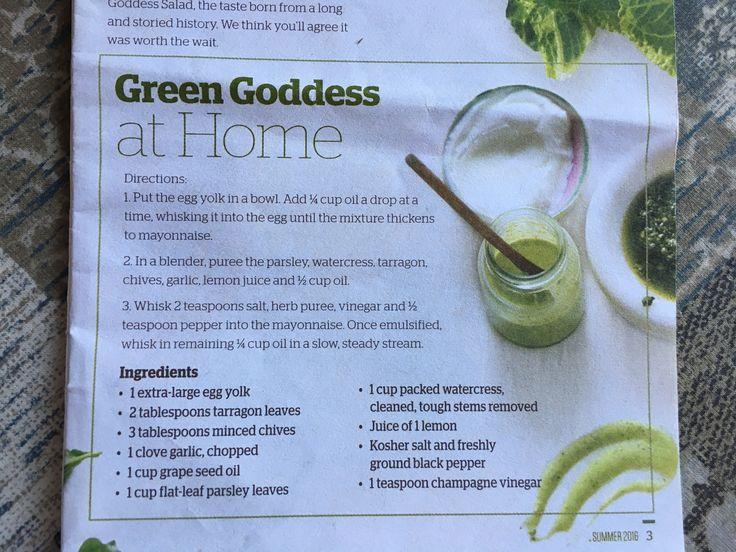Green Goddess Panera Recipe Panera Green Goddess Salad Green Goddess Salad Recipe Green