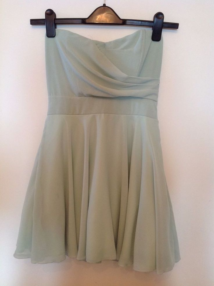 Dress Mini Corset Style M (10) House Of Fraser Mint Green #HouseofFraser #CorsetStyle #SpecialOccasion