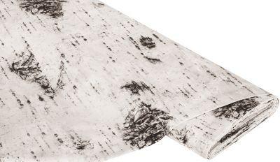 """Baumwollstoff-Digitaldruck+""""Birkenstamm"""" € 9,95"""