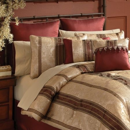 The Marquis bedding collection features a classic & traditiona...
