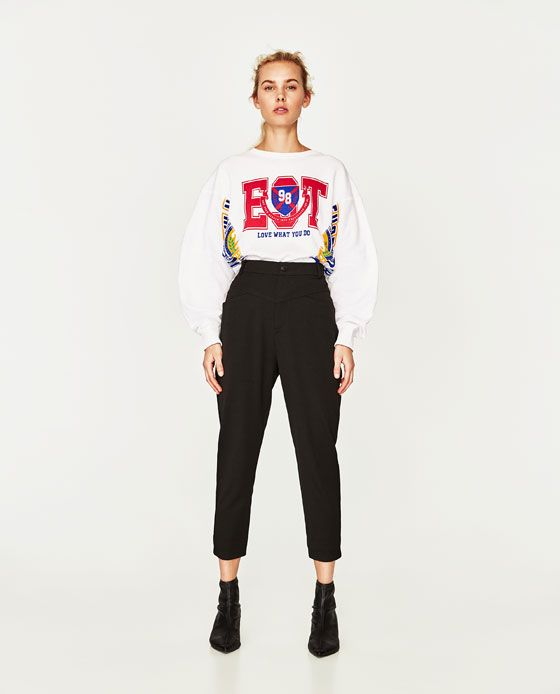 ZARA - WOMAN - MOM-FIT TROUSERS