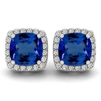 Get this beautiful pair of Tanzanite #earring at most reasonable price from toptanzanite.com