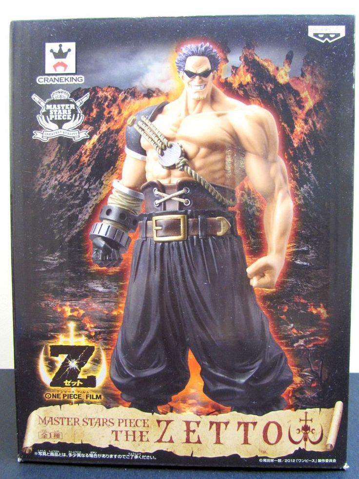 Banpresto ONE PIECE  Film Z Master Stars Piece the ZETTO Action Figure Toy Japan