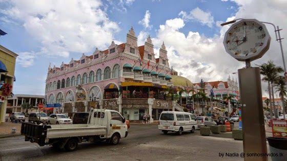 Sonhos Vividos: Aruba - Oranjestad (Walking Tour)