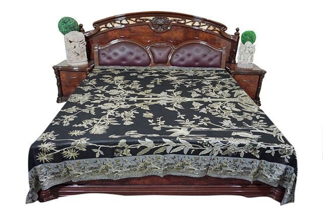 US $99.96 New with tags in Home & Garden, Bedding, Blankets &  Throws  #coverlets #bedding #bedcover #homedecor #pashmina