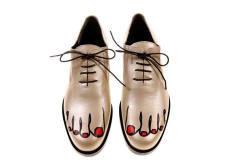 Comme des Garcons shoes rock our casbah!