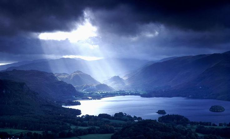 """Lake District landscape photography - photos and prints by Trevor Brown - """"Derwentwater - Lake District""""."""