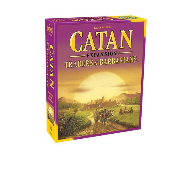 Delve deep into Catan! In Catan: Traders & Barbarians you'll find lots of cool new ways to explore Klaus Teuber's award-winning game series.