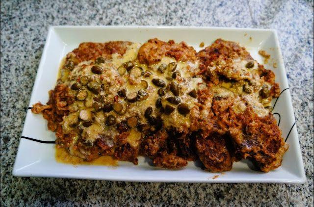 Cocinero Diario: ESCALOPINES DE TERNERA A LA LECHE