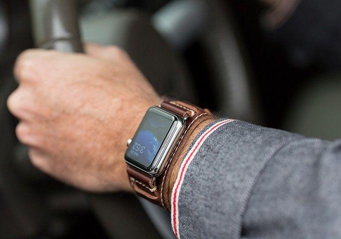 Lowry Cuff Apple Watch Leather Band