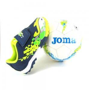 Deportivas Joma multitacos + balón