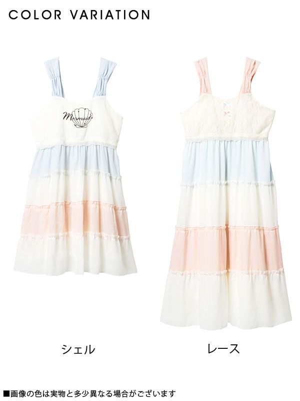 dreamv | Rakuten Global Market: -Book-[print chiffon or race ribonnoseliebmedium or long length dress | PP | |] Dream vision ◆ 6/23 delivery appointment