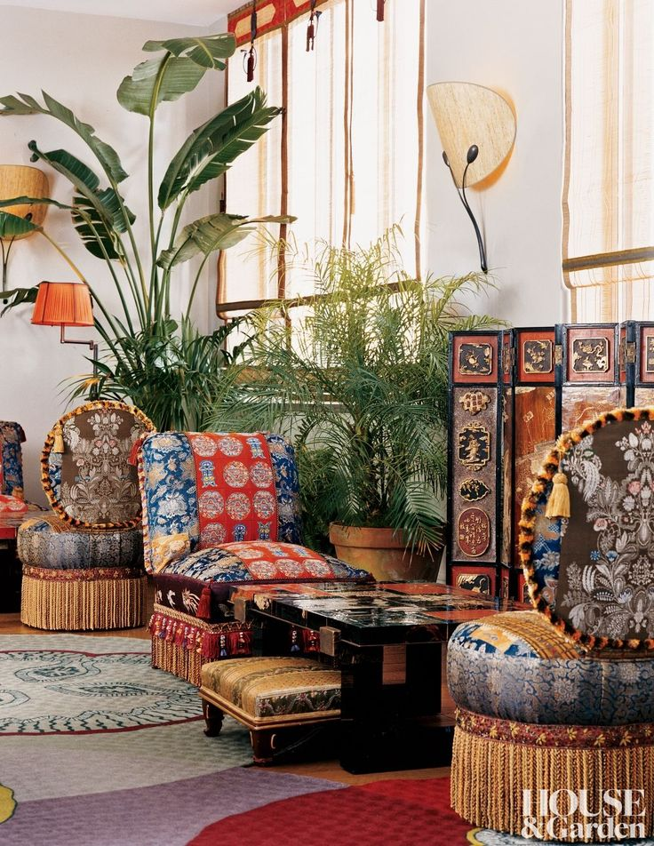 Exotic Living Room By Muriel Brandolini And Shamir Shah In New York, New  York Part 53