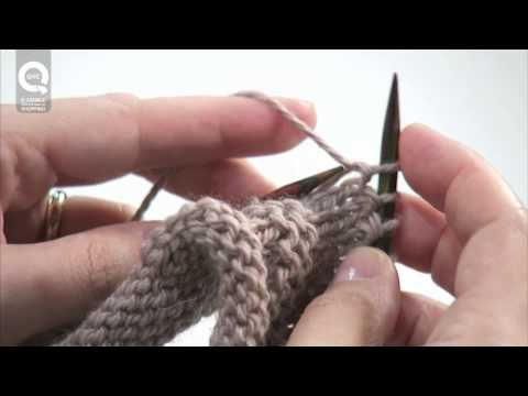 ▶ Lavora a maglia con Emma Fassio - Punto rovescio con la tecnica continentale - YouTube
