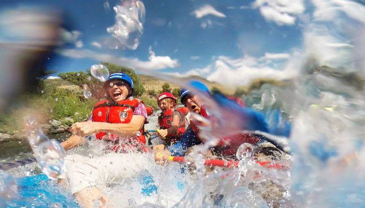Splash! Rafting on the Yellowstone River