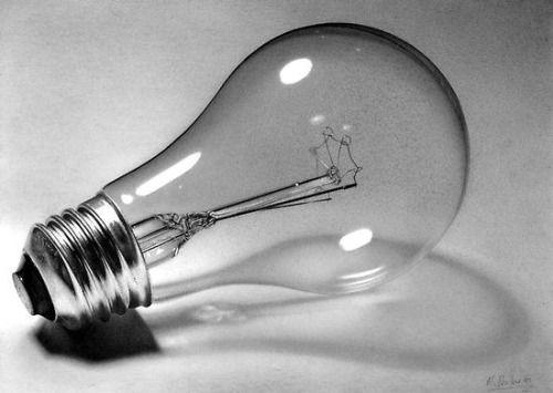 realistic light bulb drawing sushant r rane 550  390 Jul 10...