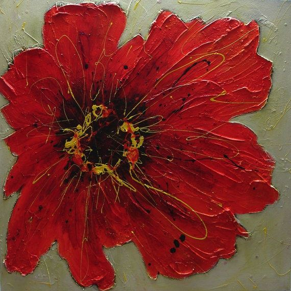 best 25 acrylic painting flowers ideas on pinterest
