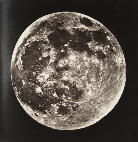 James Nasmyth and James Carpenter, James Hall Nasmyth, James Carpenter, The Moon: Considered as a Planet, a World, and a Satellite, 1874; book with twenty-four woodburytypes, 11 7/16 in. x 8 15/16 in. x 1 7/16 in. (29.05 cm x 22.7 cm x 3.65 cm); Collection SFMOMA, Accessions Committee Fund purchase.